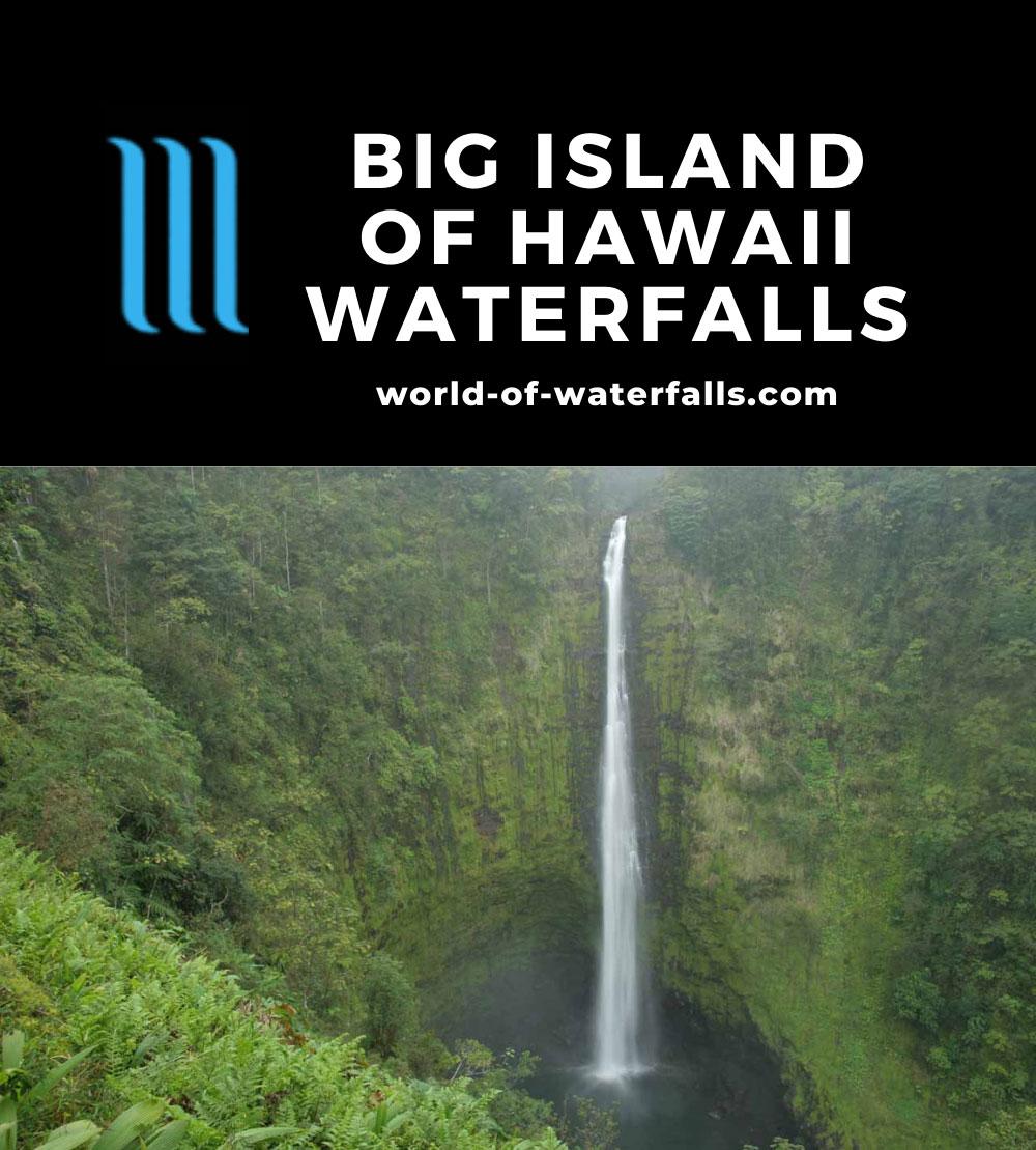 Big Island of Hawaii Waterfalls