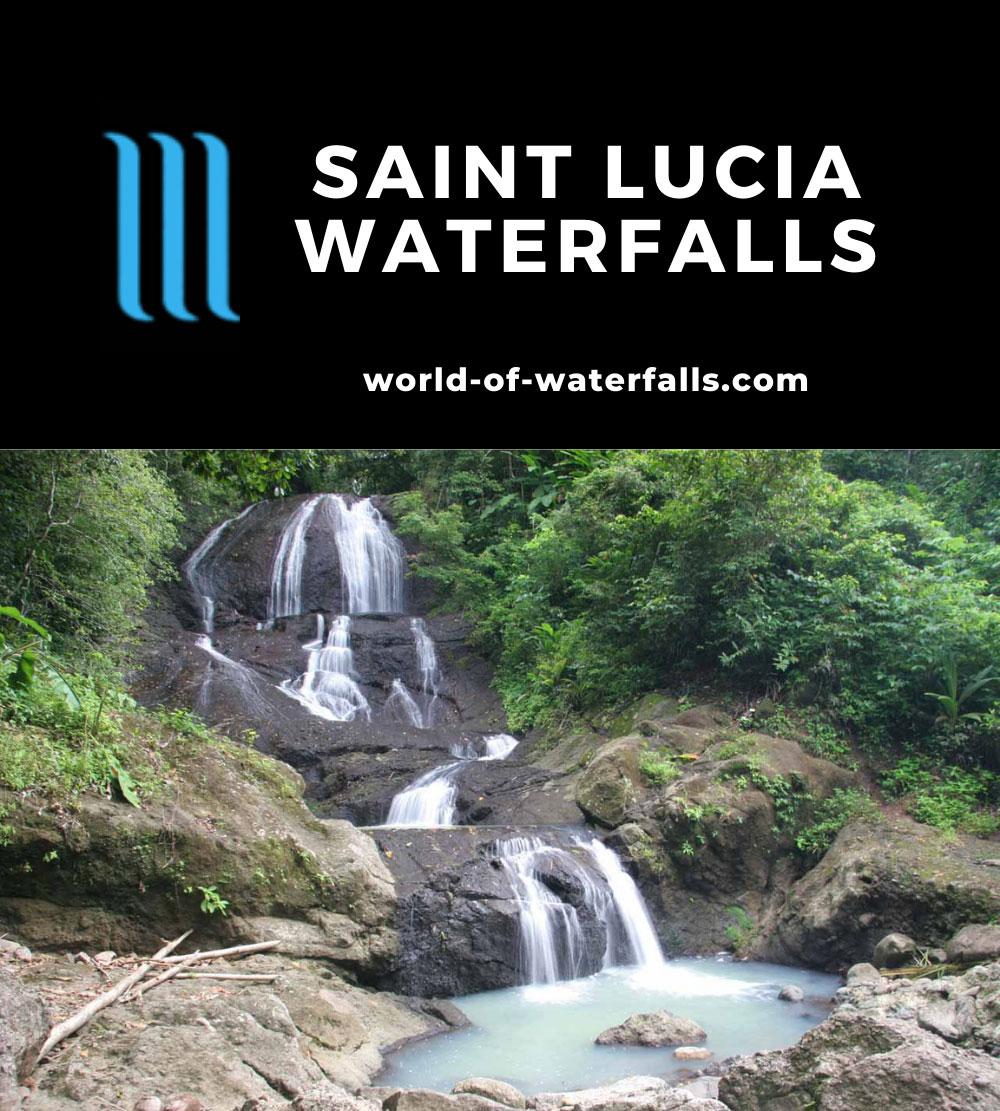 Saint Lucia Waterfalls