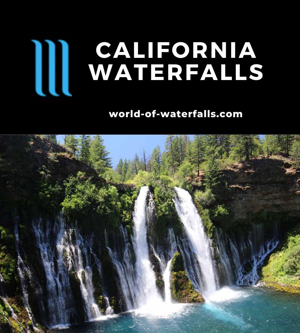 California Waterfalls