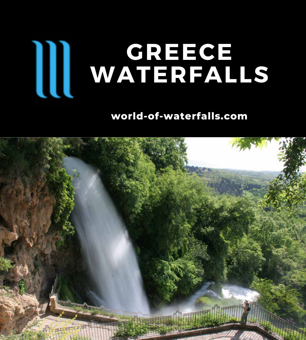 Greece Waterfalls