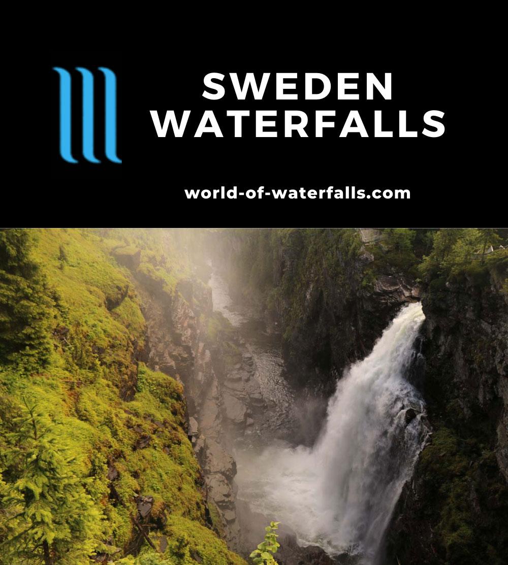 Sweden Waterfalls