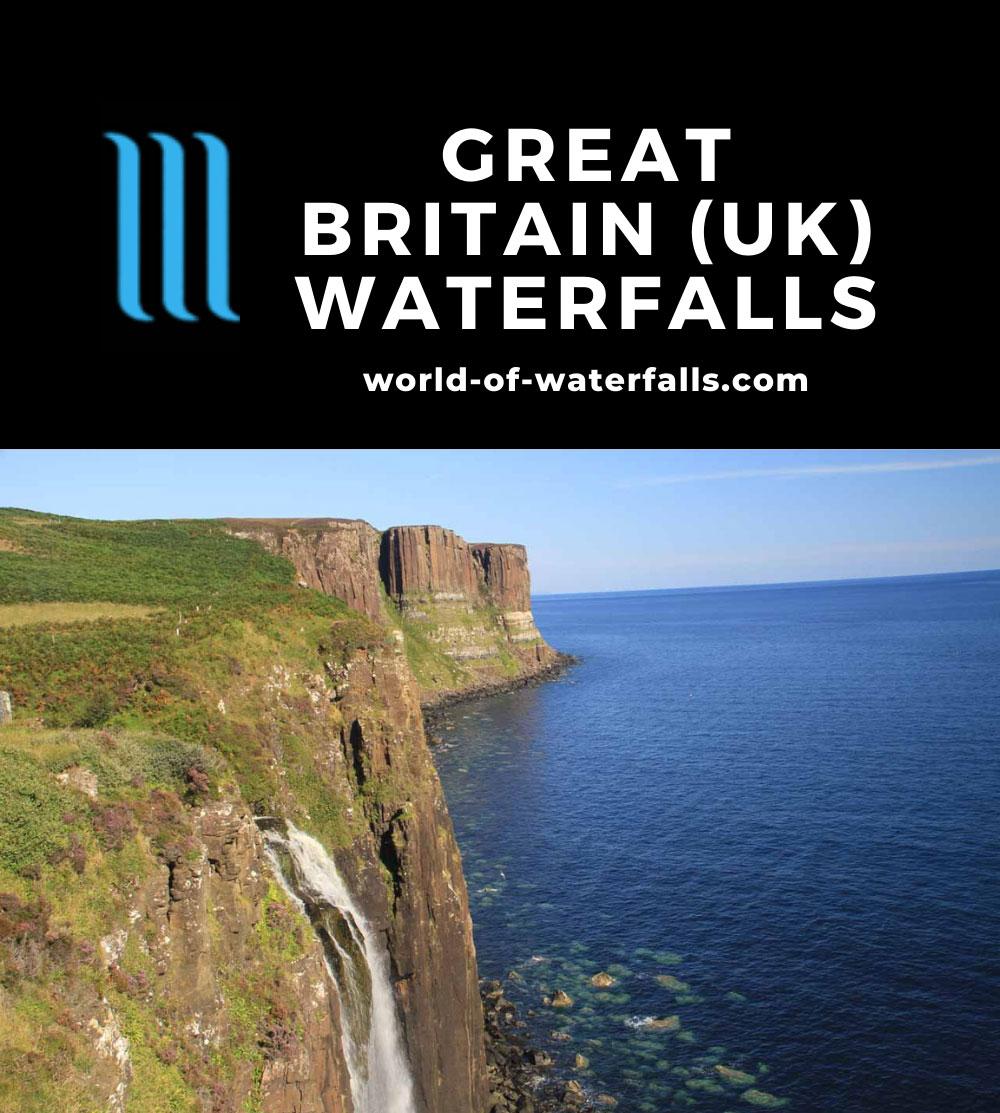 Great Britain (UK) Waterfalls