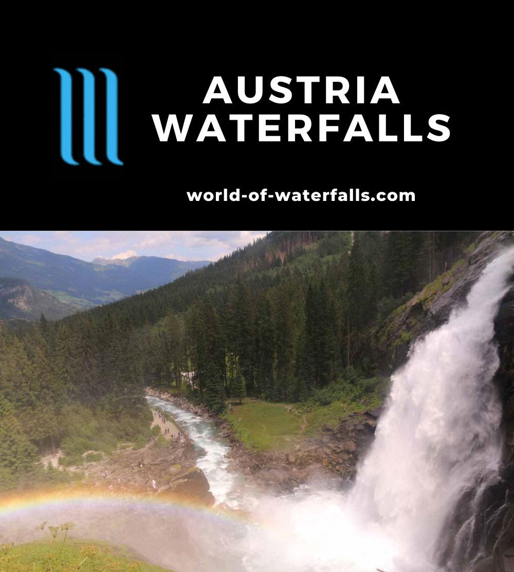 Austria Waterfalls