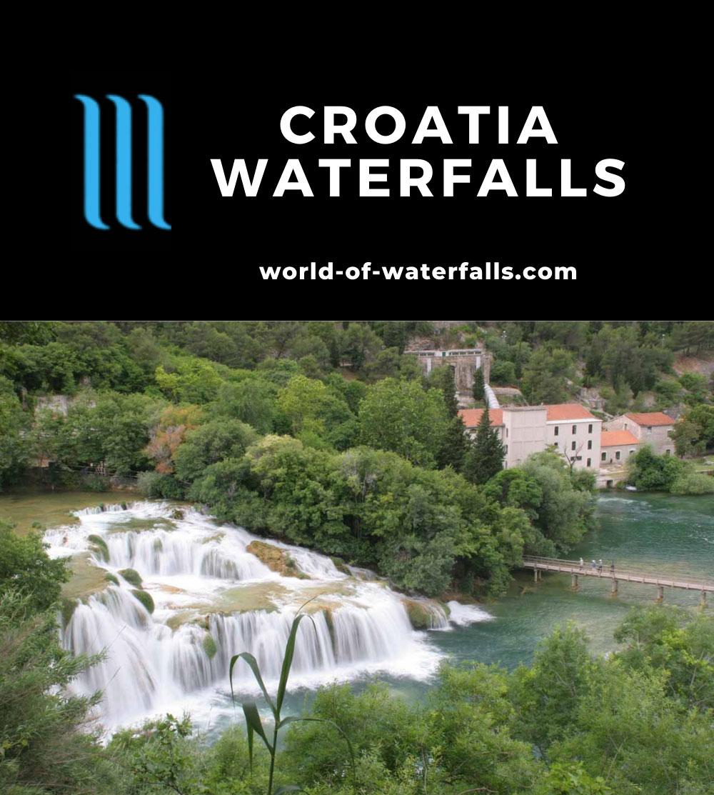 Croatia Waterfalls