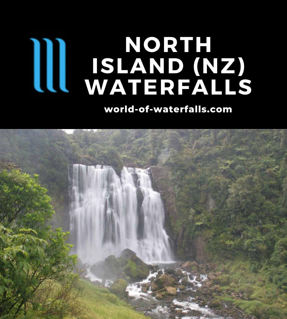 North Island (New Zealand) Waterfalls