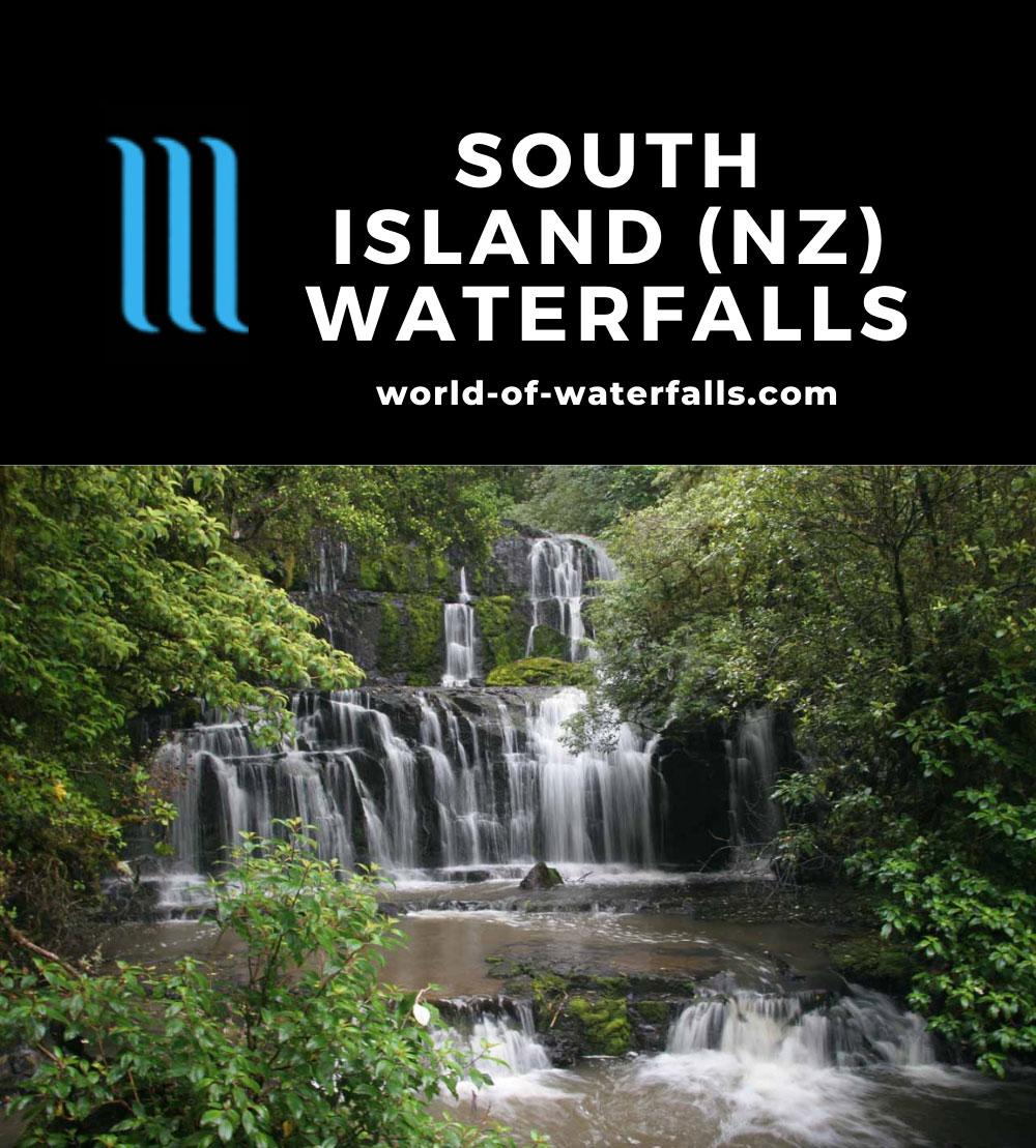South Island (New Zealand) Waterfalls