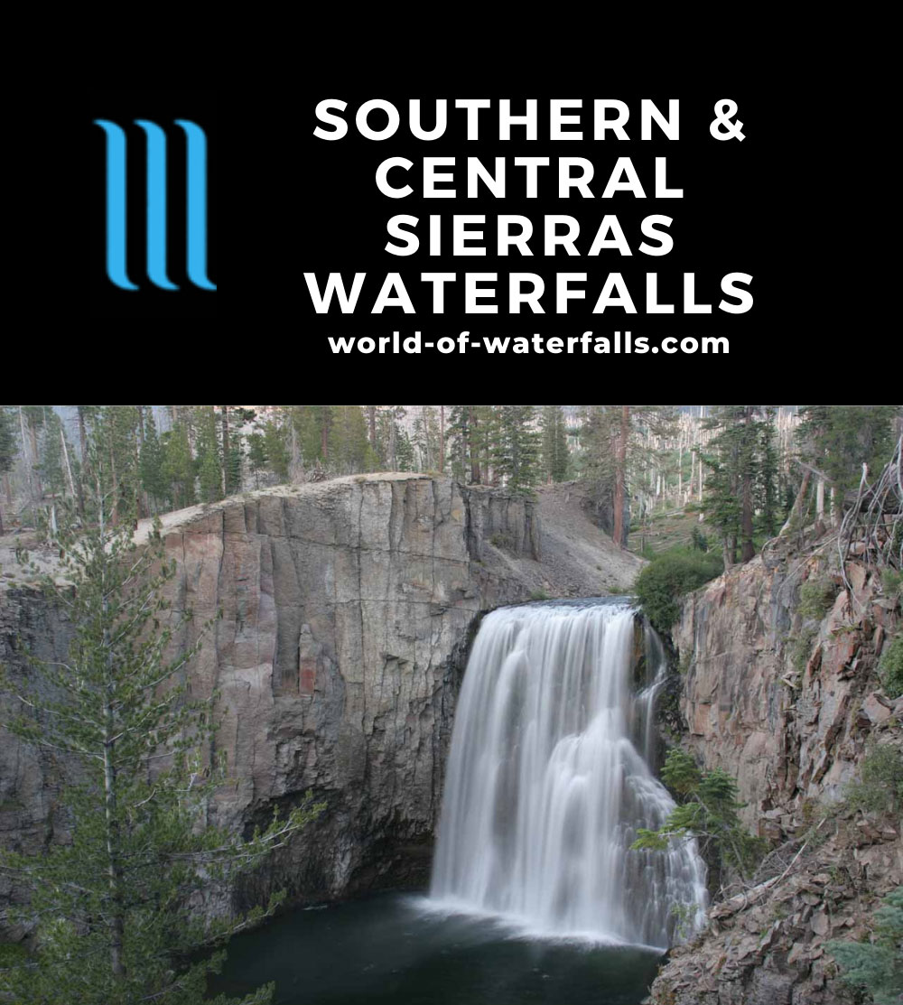 Southern and Central Sierras Waterfalls