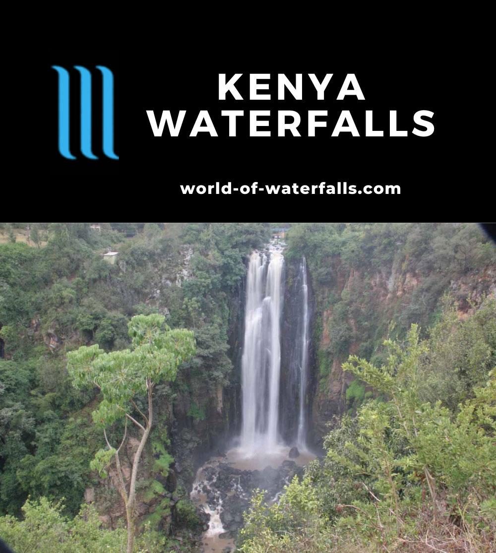 Kenya Waterfalls