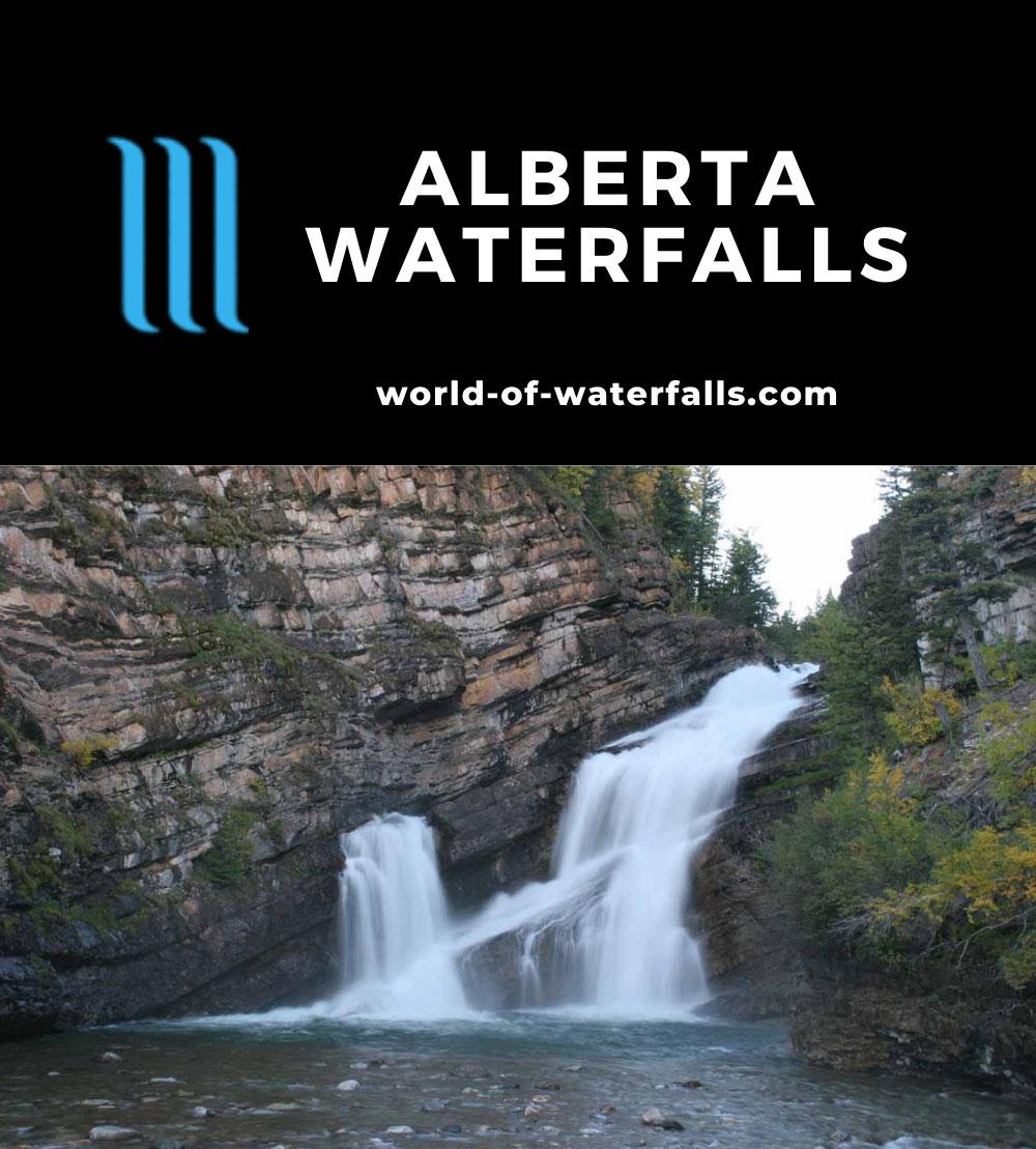 Alberta Waterfalls